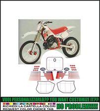 kit adesivi stickers compatibili   mx 125 250 300 500 1989