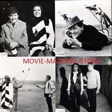 """Diana Rigg Patrick Macnee The Avengers British 7x7"""" Photo From Original Neg M945"""