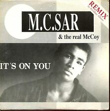 M.C. SAR & THE REAL McCOY - IT'S ON YOU (REMIX) - CARDBOARD SLEEVE CD MAXI