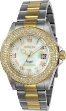 Invicta Women's Angel Limited Edition 40mm SS Two Tone Gold Swiss Quartz Watch