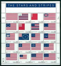 US United States Scott #3403 Stars and Stripes Flags
