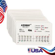 20 Sets Orthodontic Dental Brackets Braces Mini MBT 022 Hooks 3-4-5 Azdent SALE