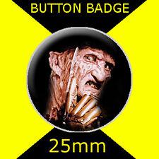 FREDDY KRUEGER -  CULT TV  -  Button Badge 25mm
