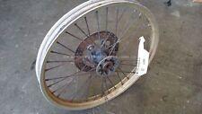 Front Wheel Hub Spokes Rim off a Husqvarna CR WR TE 125 250 400 430 1986 86