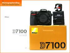 Nikon D7100 24MP Numérique SLR Caméra Chargeur et batterie GRATUIT UK POSTE
