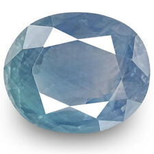5.04-Carat Lovely Unheated Velvety Blue Sapphire from Kashmir (Certified by GIA)