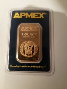 House Clearance Items 1 0z Apmex Gold Bars 99.99 Sealed In Assay Case.