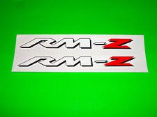 SUZUKI RM RMZ 65 80 85 100 125 250 450 MOTOCROSS SUPERCROSS STICKERS DECALS