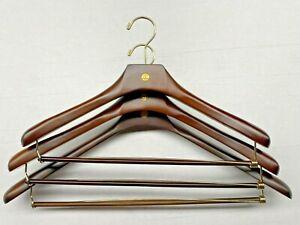 New  Brooks Brothers Golden Fleece Wooden Suit Hanger NEW-Sugar Tree Ridge