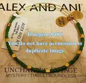 Alex and Ani Uncharted Voyage Kelp Odyssey Beaded Bangle - Rare