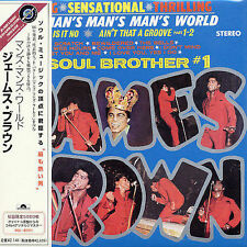 JAMES BROWN IT'S A MAN'S WORLD JAPAN REPLICA EXACT TO ORIGINAL LP IN A OBI CD