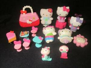 Sanrio Hello Kitty Lot ~❤️~ Mixed Lot PVC McDonalds Paper Punch