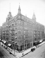 "1905 Ryan Hotel, St. Paul, Minnesota Old Photo 8.5"" x 11"" Reprint"