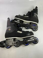 New ListingBauer Authentic Nhl Rh 300 Hockey Inline Skates Sz 11 used