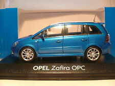 WOW EXTREMELY RARE MINICHAMPS 1/43 2006 OPEL ZAFIRA OPC FANTASTIC DETAIL NLA