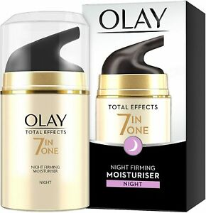 Olay Total Effects 7 in 1 Anti Ageing Night Firming Moisturiser, 50ml