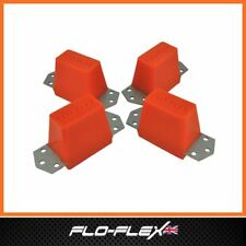 Land Rover TDCi Steel Plated Extended Bump Stop Bushes in Poly Flo-Flex