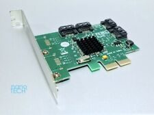 NEW 4 Port SATA III 6.0Gb PCIe x2 lane Controller Card *Apple Mac Pro 1,1-5,1