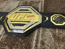 UFC WORLD Championship Replica Dual plated Belt,ADULT SIZE