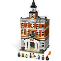 2859PCS Creator New Town Hall Building Blocks Bricks Model MOC DIY Set Kids Toys