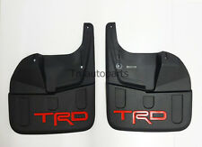 TRD FRONT SET PAIR MUDGUARDS MUDFLAPS FOR TOYOTA HILUX REVO M70 M80 SR5 2015 4WD