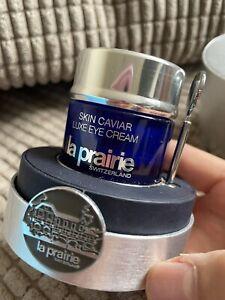 La Prairie Skin Caviar EMPTY BOTTLE - Luxe Eye Lift Cream 20ml - Refillable