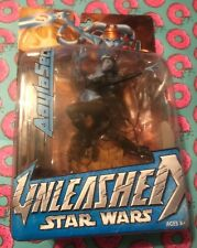 """Hasbro 2004 Star Wars Unleashed """"Aayla Secura"""" 7"""" Action Figure *NEW*"""
