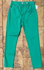 DG2 by Diana Gilman SuperStretch Green Skinny Jegging, size 4