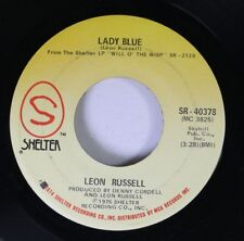 Rock 45 Leon Russell - Lady Blue / Laying Right Here In Heaven On Shelter 5