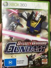 dynasty warriors gundam xbox 360