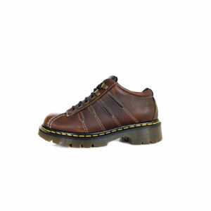 DR. MARTENS Boots ENGLAND 5 UK Brown Oiled Leather Womens *EXCELLENT*