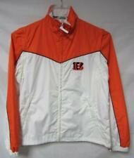 Cincinnati Bengals Women s Size Medium Windbreaker w  Zip Off Sleeves A1 747 58ae447468