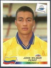 PANINI WORLD CUP FRANCE 1998- #453-COLOMBIA-JOHN WILMAR PEREZ