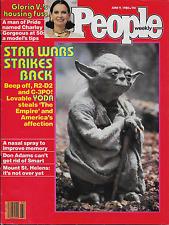 People Weekly,June 9, 1980..Empire Strikes Back..Yoda Frank Oz, Free Shipping.