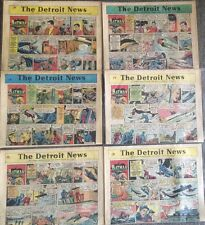 BATMAN Comic Strip Detroit News FULL SUNDAY Newspaper Nov 8/25/1968-Dec/24/1968