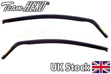 Fiat Grande Punto/EVO 3door 2006-2012 wind deflectors 2pc HEKO TINTED