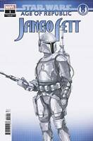 STAR WARS AOR JANGO FETT #1 CONCEPT DESIGN VAR - MARVEL COMICS - US-COMIC - H091