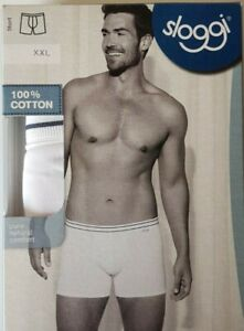 Sloggi Men Shorts Size 34, 38 or 40 ~BNWT~ White or Blue 10106598