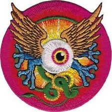 Mouse And Kelley Flying Eye grateful dead C&D Patch