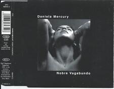 DANIELA MERCURY - Nobre Vagabundo (REMIXES) CDM 4TR 1996 BRAZIL PRINT