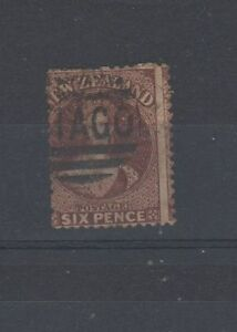 New Zealand 1862 6d brown FU