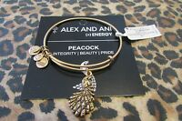 NWT ALEX AND ANI BRACELET ** PEACOCK **   RUSSIAN GOLD  *FREE S&H*