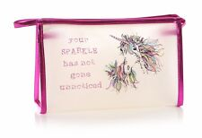 Casey Rogers 'Your Sparkle' Unicorn Cosmetics Make Up Wash Bag 91669