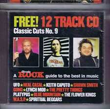 UFO NEAL CASAL KEITH CAPUTO SHAWN SMITH + Classic Cuts 9 CLASSIC ROCK CD 2000