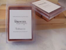 Tobacco Scented Soy Wax Clamshell Melt Tart- 2wks of Fragrance