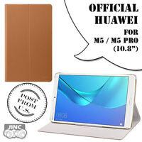 "Genuine Original HUAWEI MediaPad M5 M5 Pro 10 10.8"" Flip Cover Leather Book Case"