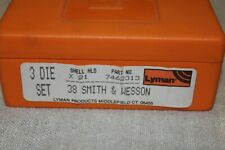 Reloading dies used, Lyman .38 Smith & Wesson