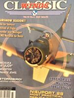 Classic Wings Magazine Nieuport 28 & Cart Mustangs Vol.16 No.4 2009 021418nonrh