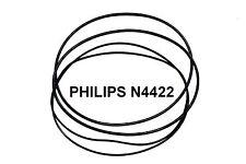 CORREAS SET PHILIPS N4422   MAGNETOFONO EXTRA FUERTE NEUVAS DE FABRICA N 4422