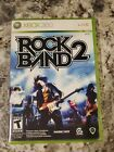 Rock Band 2 - Xbox 360 Game - Complete & Tested